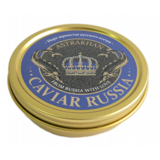 Икра осетровая Caviar Russia Astrakhan, 100 гр.